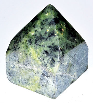 Nephrite top polished point