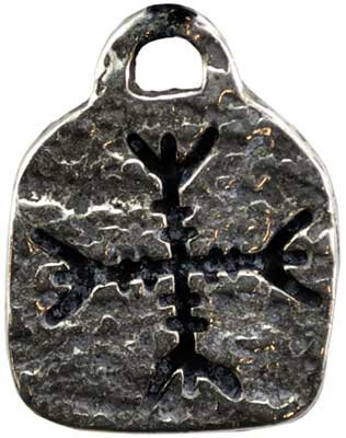 Guard Against Negative Forces Runic amulet