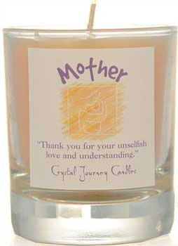 Mother soy votive candle