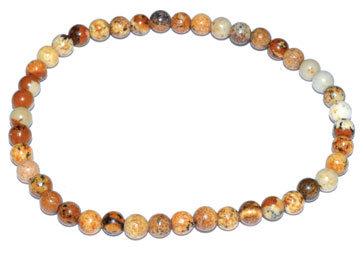 4mm Jasper, Picture stretch bracelet