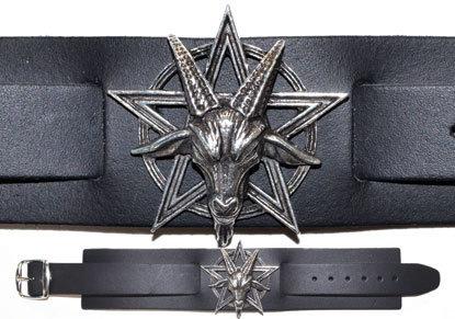 Baphomet bracelet
