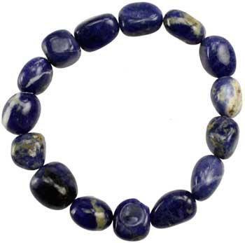 Sodalite gemstone bracelet