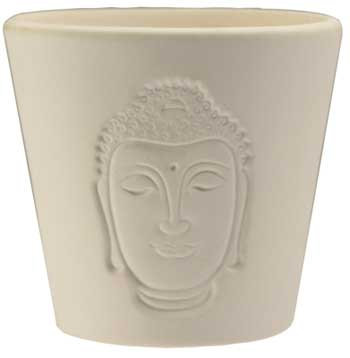 Buddha Shadow votive candle holder