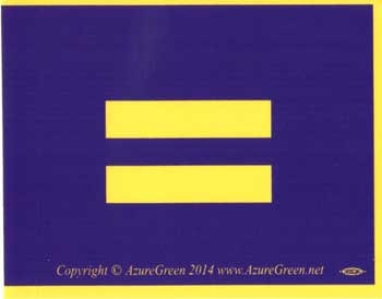 Marriage Equality bumper sticker