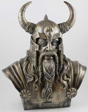 """11"""" Odin Bust"""