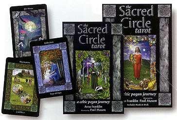 Sacred Circle, Celtic Pagan Journey tarot by Franklin & Mason