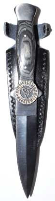 Rune Triquetra athame