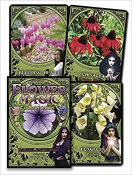 Flower Magic oracle by Kate Osborne