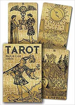 Tarot Black & Gold dk & bk London 1909