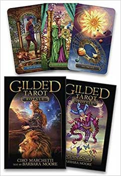 Gilded Tarot (deck and book) Royale by Marchetti & Moore