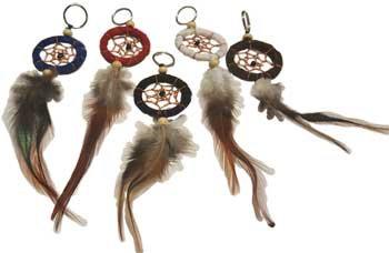 Dream Catcher key chain mixed colors