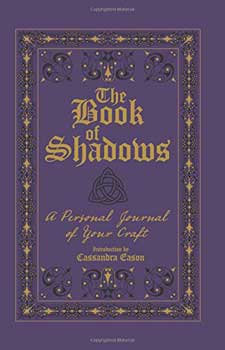 Book of shadows lined journal