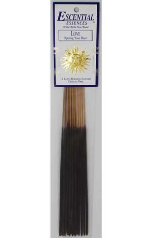 Love Escential essences incense sticks 16 pack