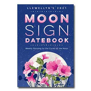2021 Moon Sign Datebook by Llewellyn