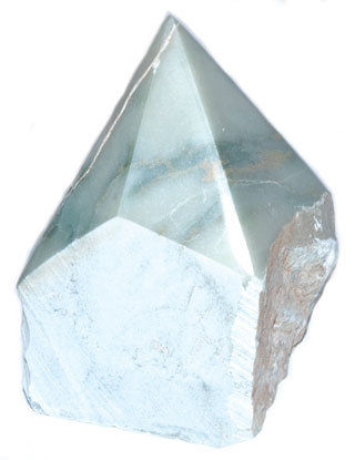 Apatite top polished point
