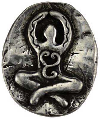 Goddess pocket stone