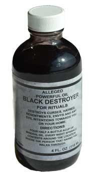 Negro Destructor (Black Destroyer) Oil