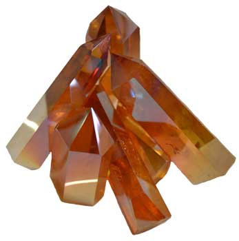 1 lb Angel Gold Crystal points