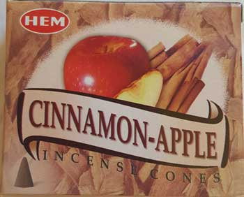 Cinnamon-Apple HEM cone 10 cones