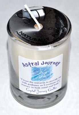 Astral Journey soy votive candle