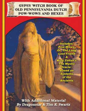 Gypsy Witch Book of Old Pennsylvania Dutch Pow-Wows & Hexes by Dragonstar