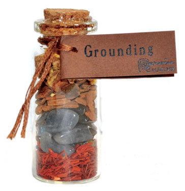 Grounding pocket spellbottle