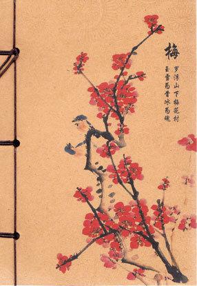 Cherry Blossom string bound journal (hc)