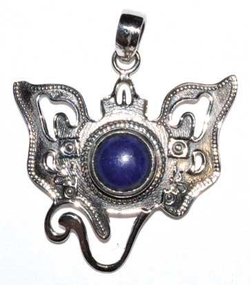 Ganesha lapis pendant
