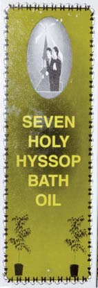 4oz Seven holy Hyssop bath oil