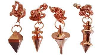 copper plated Brass pendulum