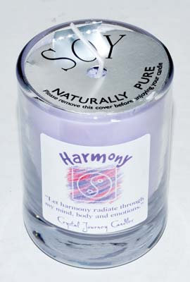 Harmony soy votive candle