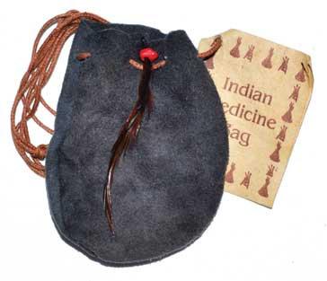 "3"" Medicine Dream bag Grey"