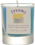 Dreams soy votive candle