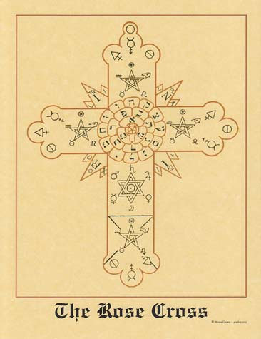 Rose Cross poster