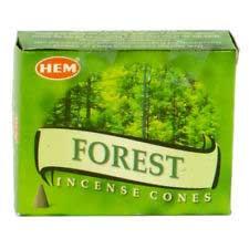 Forest HEM cone 10 cones