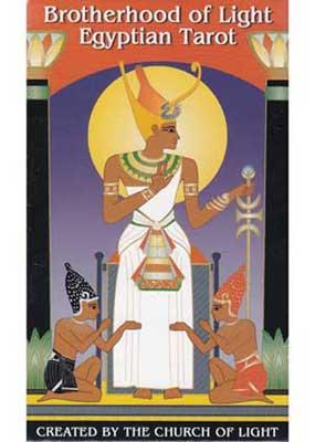 Brotherhood of Light Egyptian tarot deck by Church of Light