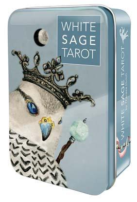 White Sage tarot tin by Theresa Hutch
