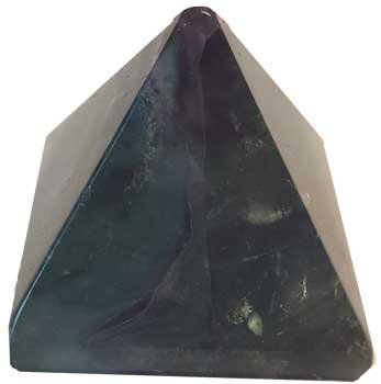 30-35mm Fluorite, Rainbow pyramid