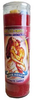 Love Honey aromatic jar candle