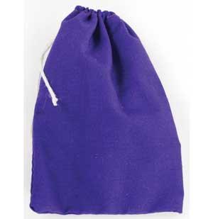 Purple Cotton Bag