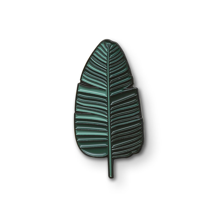 "Enamel Pin ""Palm Leaf"""