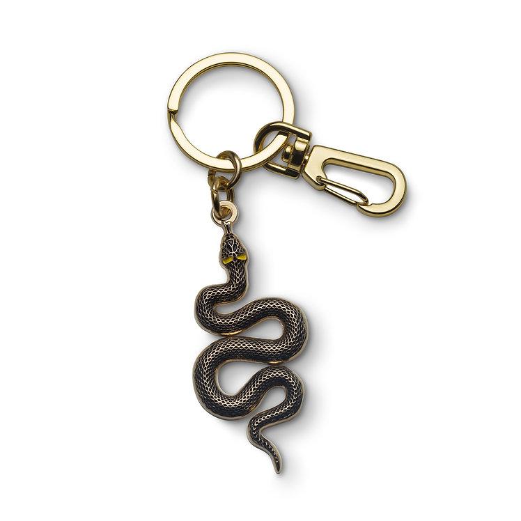 """Enamel Keychain """"Snake"""""""