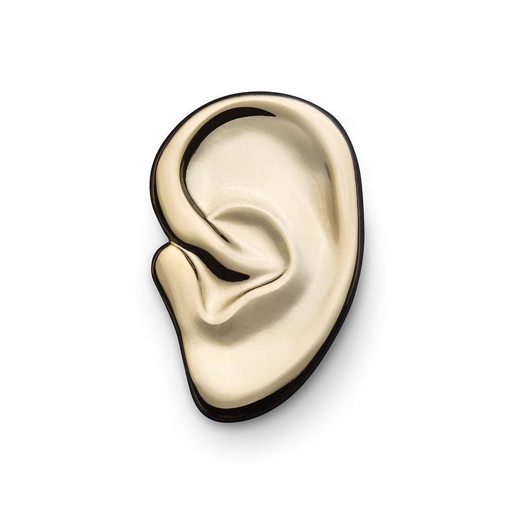 """Golden Pin """"Ear"""""""