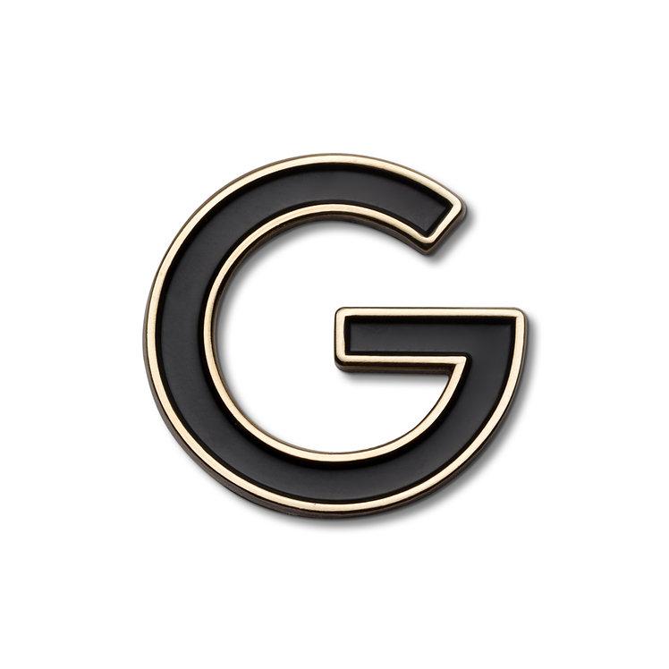 Enamel Letter G Pin
