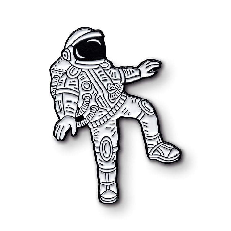 "Enamel Pin ""Astronaut"""