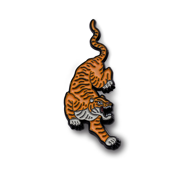 """Enamel Pin """"Tiger"""""""
