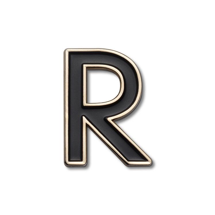 Enamel Letter R Pin