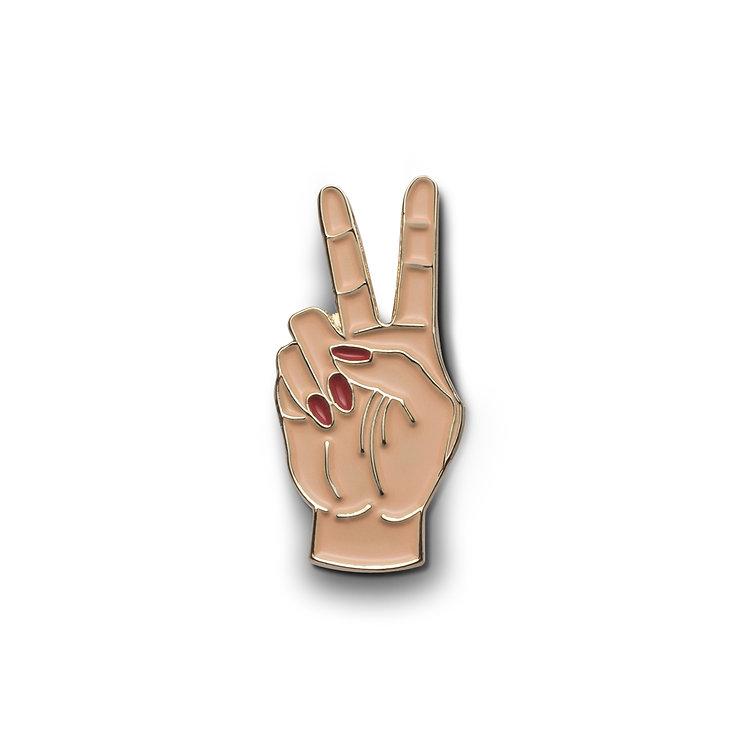 """Enamel Pin """"Peace Sign"""""""