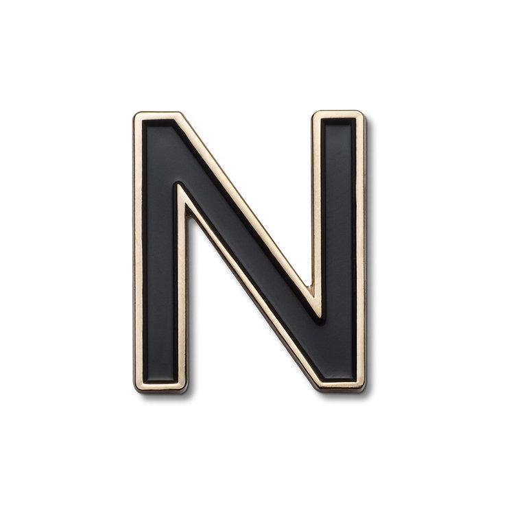 Enamel Letter N Pin