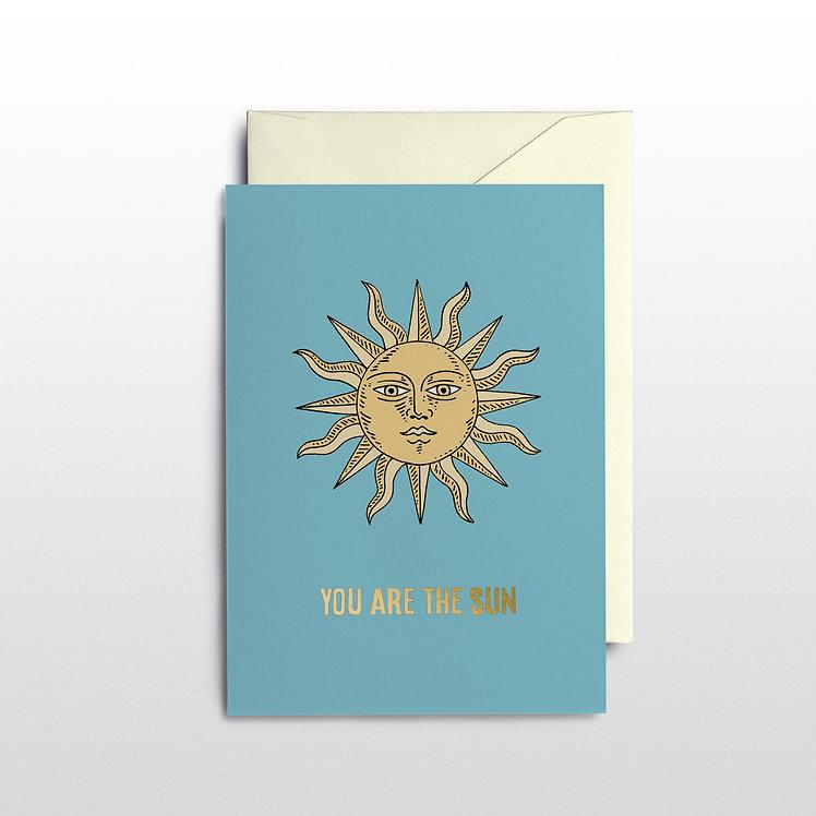 "Postcard ""You are the Sun"""
